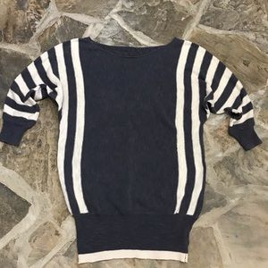 I Love H81 Classic Off Shoulder Sweater Blouse